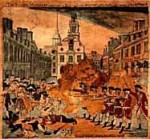 The Boston Massacre occurred on March 5, 1770, when British soldiers opened fire on colonists that were heckling a British sentry.